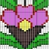 نقشه سنتی تابلو فرش(گل کوچک)