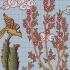 نقشه سنتی تابلو فرش(گل وبلبل)